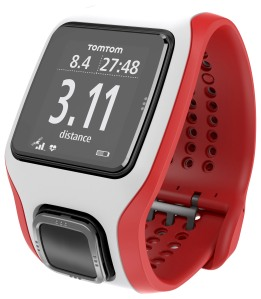 TomTom Runner Cardio_Rot-Weiß_Distanz